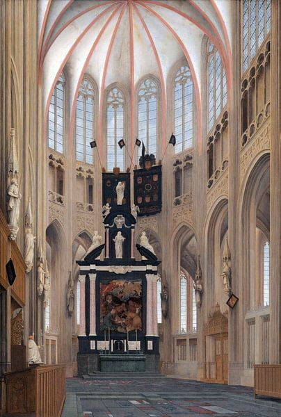 s-Hertogenbosch, St. Johanneskathedrale, Pieter Jansz Saenredam - 1646 von Atelier Liesjes