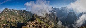 Machu Picchu in de morgen