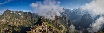 Machu Picchu am Morgen von Eddie Meijer