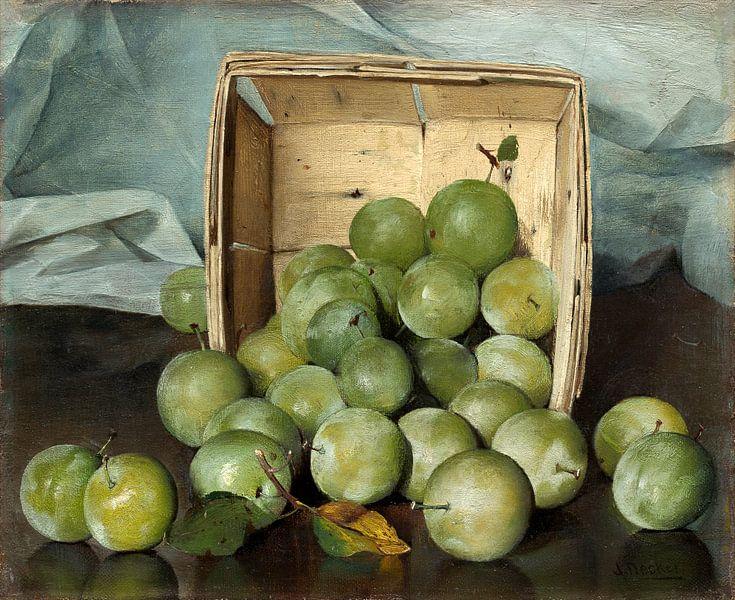 Green Plums, Joseph Decker van Liszt Collection