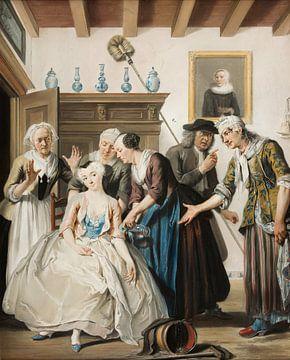 Die Entdeckung von Jan Claasz, Cornelis Troost
