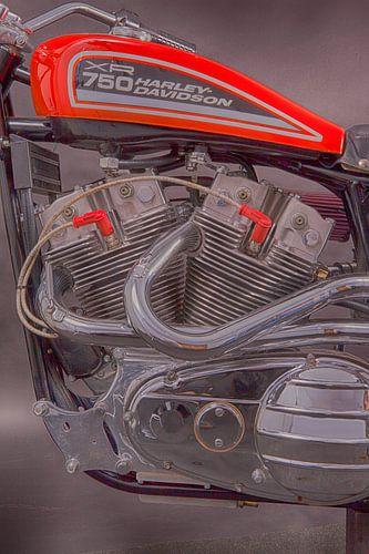 Harley-Davidson XR-750 van