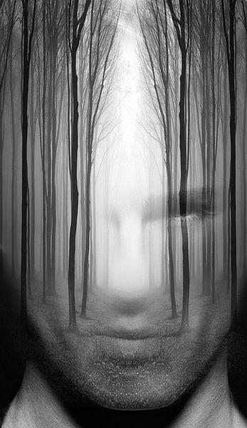 Forest man van Dreamy Faces