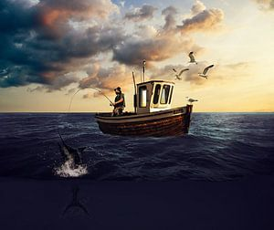 Fighting Swordfish van