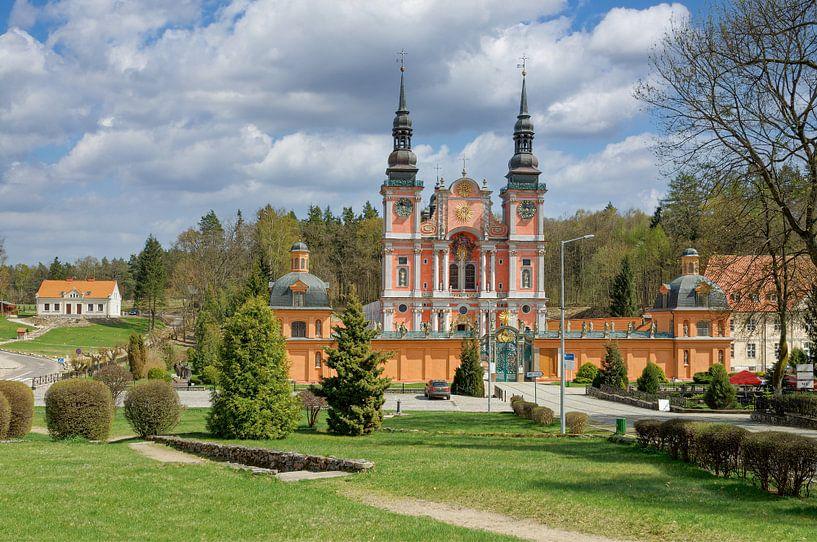 Wallfahrtskirche Swieta Lipka oder Heiligelinde,Ermland-Masuren von Peter Eckert