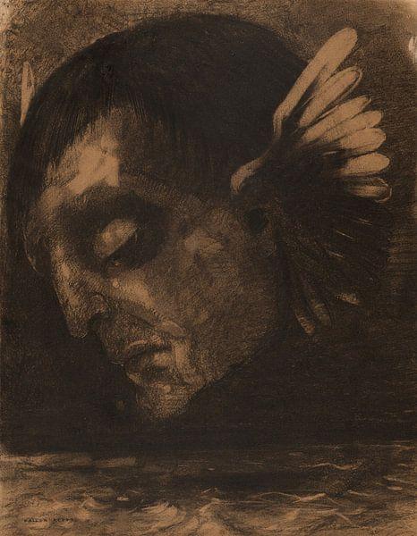 Tears (Les Pleurs), Odilon Redon von Meesterlijcke Meesters