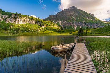 Körbersee dans le Lechquellengebirge