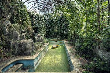 Urbex - Zwembad van Angelique Brunas