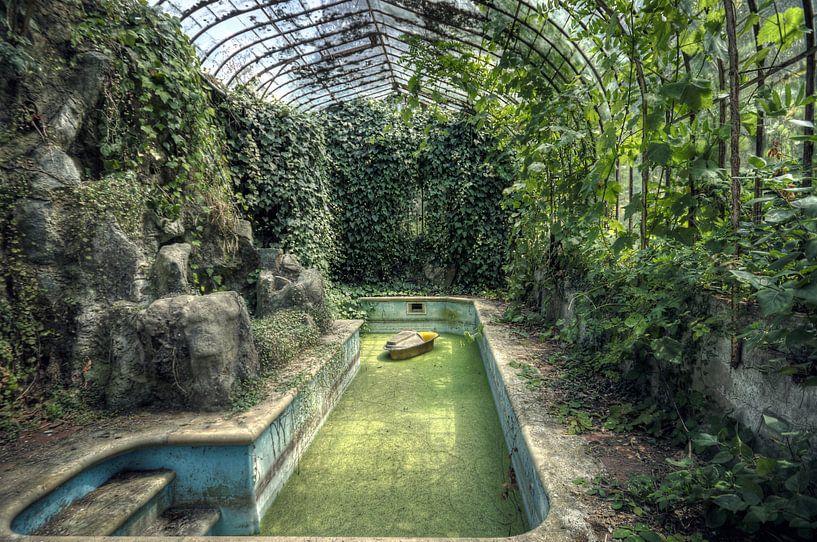 Urbex - Zwembad von Angelique Brunas