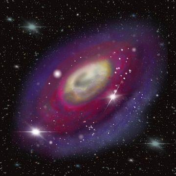 Galaxie im All