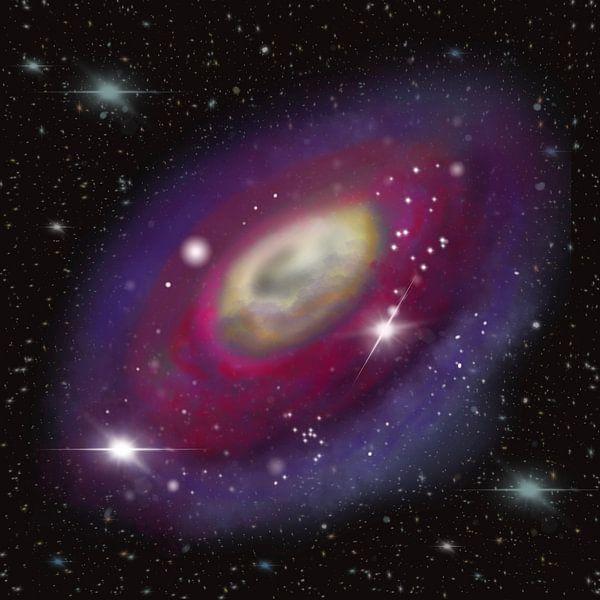 Galaxie im All von Patricia Piotrak