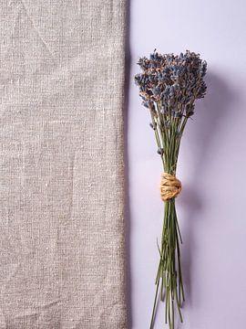 Lavendel auf hessisch und rosa von Graham Forrester