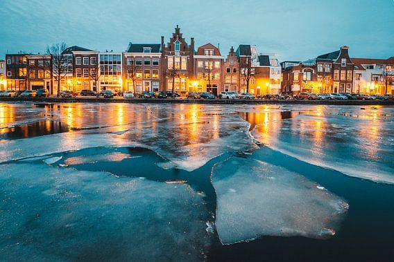 Haarlem, a winter scene van Brian Sweet