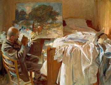 Ein Künstler in seinem Studio, John Singer Sargent