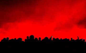 schwarz rot von