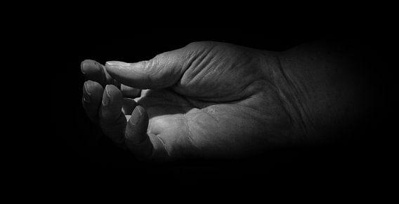 lege hand van emiel schalck