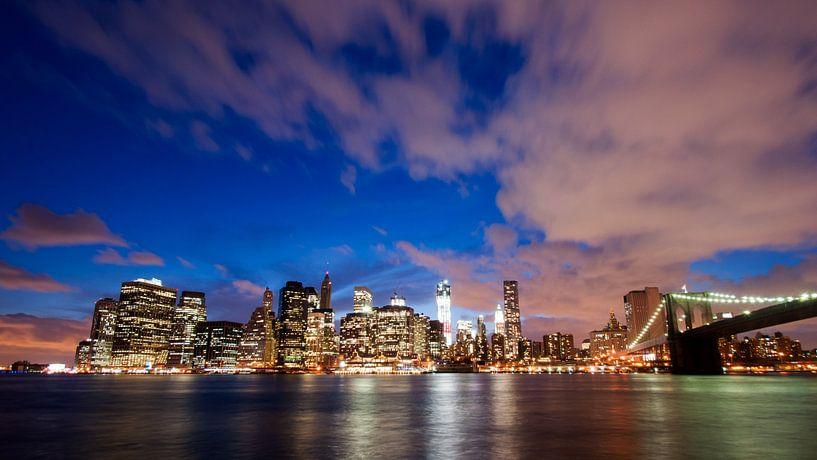 New York Skyline van Laura Vink