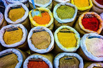 kleurrijke kruiden van P.D. de Jong
