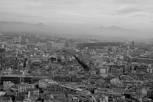 One view over Marseille von Jennifer De Cock