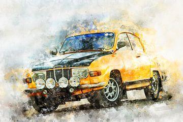 Saab 96, Rallye von Theodor Decker