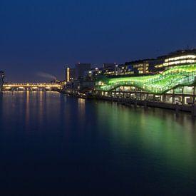 De Seine in Parijs bij avond van Emajeur Fotografie