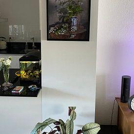 Klantfoto: Stilleven met bloemen van Affect Fotografie, als ingelijste fotoprint