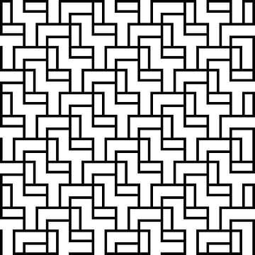 Permutatie | ID=10 | V=24-01-1 | 1:1 | 11x11 van Gerhard Haberern