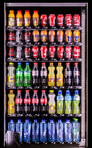 Kleuren - drankautomaat van