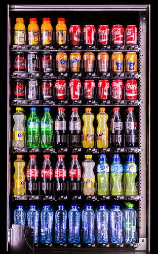 Kleuren - drankautomaat von Erik Bertels