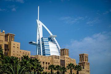 Burj Al Arab Dubai Oud en Nieuw van Martijn van den Hil
