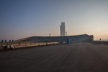 Dach der Lingotto-Autofabrik Fiat in Turin von Joost Adriaanse