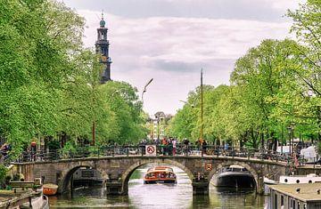 Prinsengracht Amsterdam sur Jeroen Jongeneelen