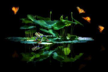 Little Pond van Jacky Gerritsen