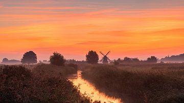 Noordermolen, Noorddijk, Groningen, Niederlande von Henk Meijer Photography