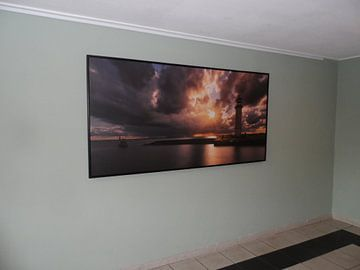 Klantfoto: Vuurtoren van Hellevoetsluis Panorama van Vincent Fennis