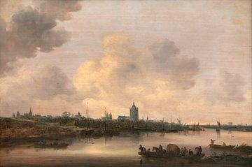Blick auf die Stadt Arnheim, Jan van Goyen