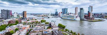 Skyline von Rotterdam - Besuch der Harmonie der Meere von Sylvester Lobé