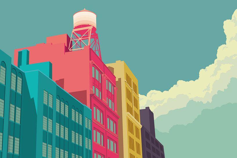 East 10th Street NYC von Remko Heemskerk