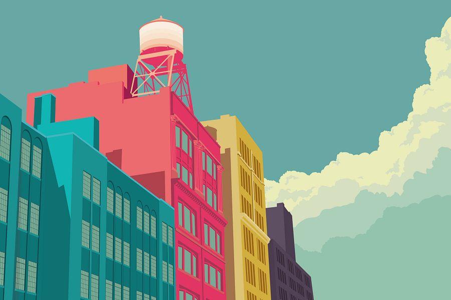 East 10th Street NYC van Remko Heemskerk