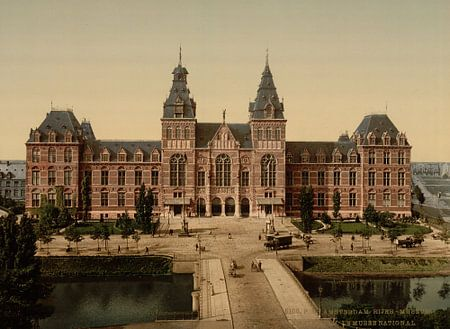 Rijksmuseum, Amsterdam van Vintage Afbeeldingen