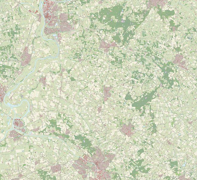 Kaart vanBronckhorst van Rebel Ontwerp