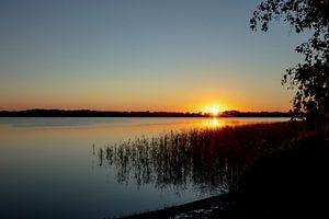 Sonnenuntergang von Koos Lanting