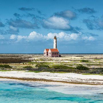 Vuurtoren Klein Curacao van Keesnan Dogger Fotografie