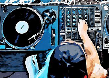 DJ muziek set #dj van JBJart Justyna Jaszke