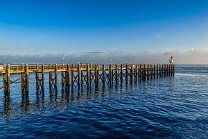Een pier bij Vlissingen.