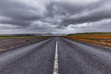 IJsland ringweg ter hoogte van Mýrdalshreppur van Easycopters
