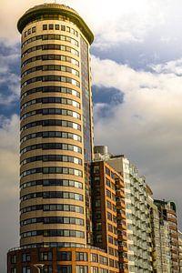 Torenflat op de boulevard van Vlissingen (Zeeland)  van