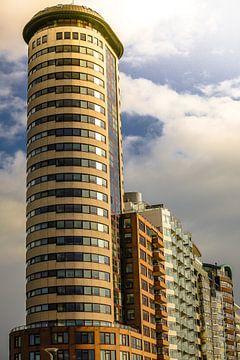 Torenflat op de boulevard van Vlissingen (Zeeland)  van Fotografie Jeronimo