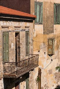 Grieks pastel in Koumeika van