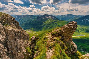 Bergpanorama am Widderstein von MindScape Photography